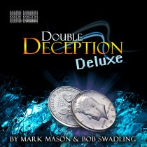 DOUBLE DECEPTION DELUXE USA QUARTER SET BY MARK MASON & BOB SWADLING