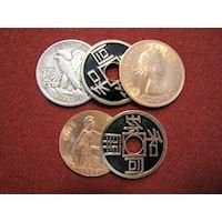 COPPER, SILVER, BRASS LIBERTY J B PRO COIN LINE